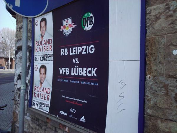Zwischen Kaiser und BSG: RasenBallsport gegen Lübeck