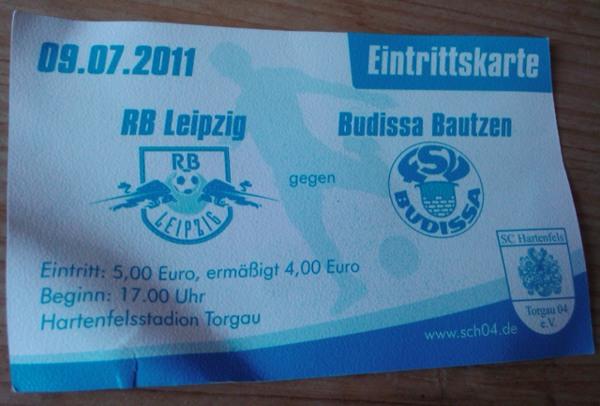 RB Leipzig gegen Budissa Bautzen