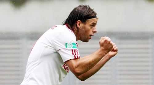 Timo Röttger - Torschütze des Ausgleichs gegen den 1.FC Magdeburg in der Hinrunde (© GEPA pictures/ Sven Sonntag)