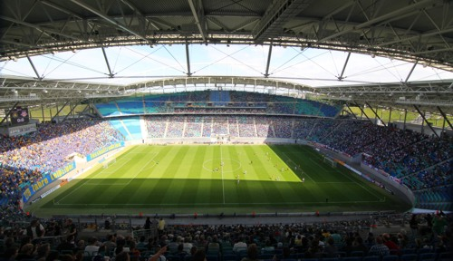 Ausbauen oder ein neues Stadion bauen? Rund um die Red Bull Arena wird weiter debattiert.. | © GEPA pictures/ Kerstin Kummer