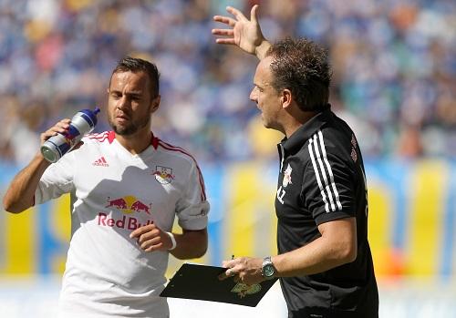 Sebastian heidinger hat sich einst in Leipzig gern die Fußballwelt erklären lassen. | GEPA-Pictures – Kerstin Kummer