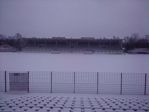 Winterwonderland Poststadion zu Berlin