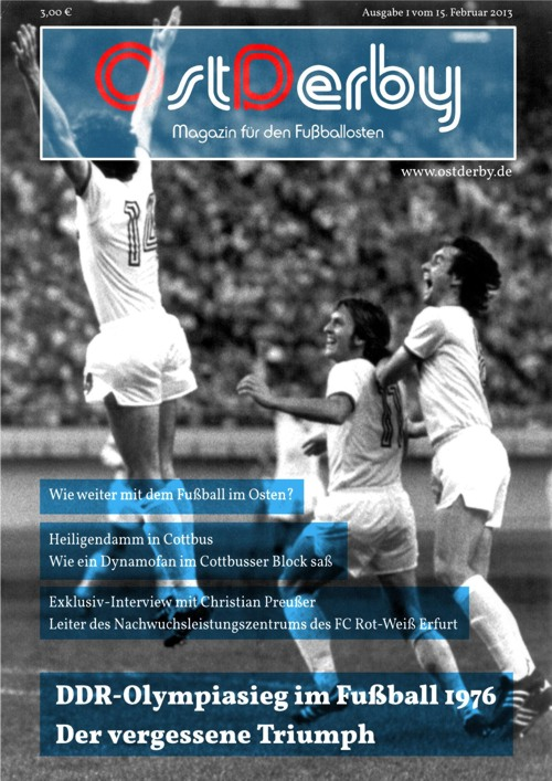 OstDerby Ausgabe 1 - Titelblatt