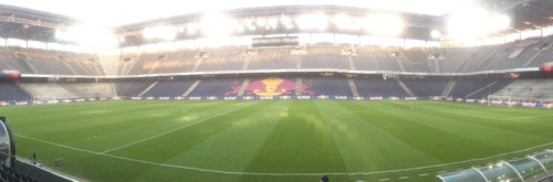 Red Bull Arena - Panoramablick | © rotebrauseblogger