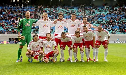 So sehen Sieger aus - RB Leipzig vor dem 2:0-Sieg gegen die Sportfreunde Lotte | GEPA Pictures - Roger Petzsche