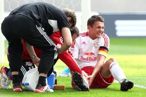 Der WErmutstropfen in einer sehr guten Saison - Daniel Frahn verpasst das Saisonfinale | GEPA Pictures - Sven Sonntag