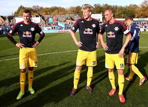 Allgemeine Ratlosigkeit bei RB Leipzig nach dem Spiel gegen den Chemnitzer FC | GEPA Pictures - Kerstin Kummer