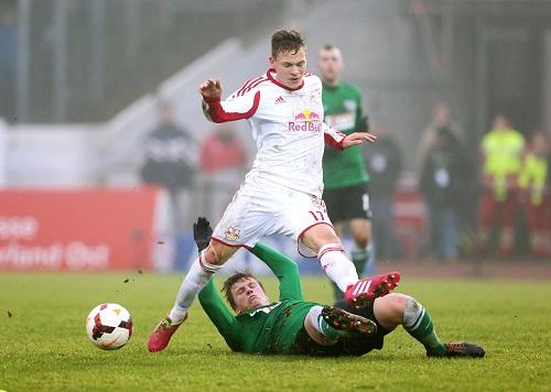 Joshua Kimmich hat bei RB Leipzig das körperbetonte Spiel gelernt. | GEPA Pictures - Sven Sonntag