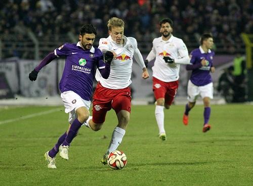Und wieder mal läuft man hinterher, diesmal ist es Lukas Klostermann | GEPA pictures/ Citypress24/ Darius Simka