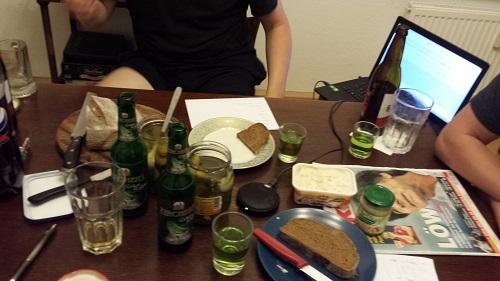 Champagner statt Bier 12