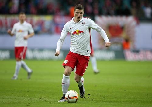 Marcel Sabitzer freut sich auf neue Konkurrenz bei RB Leipzig. | GEPA Pictures - Roger Petzsche