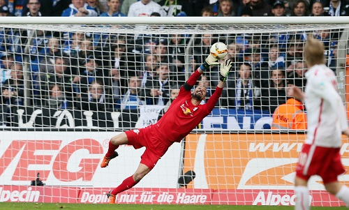 Fabio Coltorti würde gern in der Champions League und vielleicht auch noch länger als ein Jahr für RB Leipzig auflaufen. | GEPA Pictures - Roger Petzsche