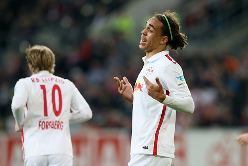 Man of the Match - Yussuf Poulsen in Düsseldorf schon in Bundesligaform | GEPA Pictures - Roger Petzsche