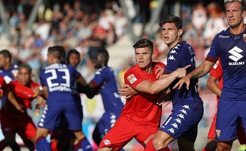 Kaum ein Durchkommen für RB Leipzig im Testspiel gegen den FC Turin | GEPA Pictures - Andreas Pranter