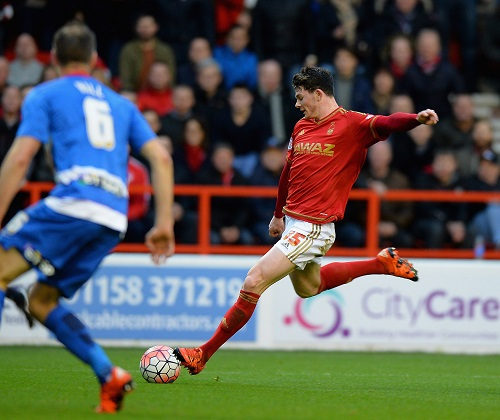 Oliver Burke in Aktion. Tony Marshall/Getty Images