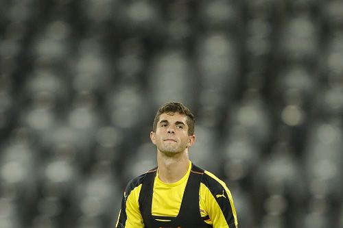 Christian Pulisic. Photo by Lintao Zhang/Getty Images