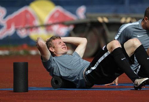 Hässliche Verletzung undwieder mal viel Arbeit ohne Ball vor sich: Ken Gipson. Foto: GEPA Pictures - Andreas Pranter