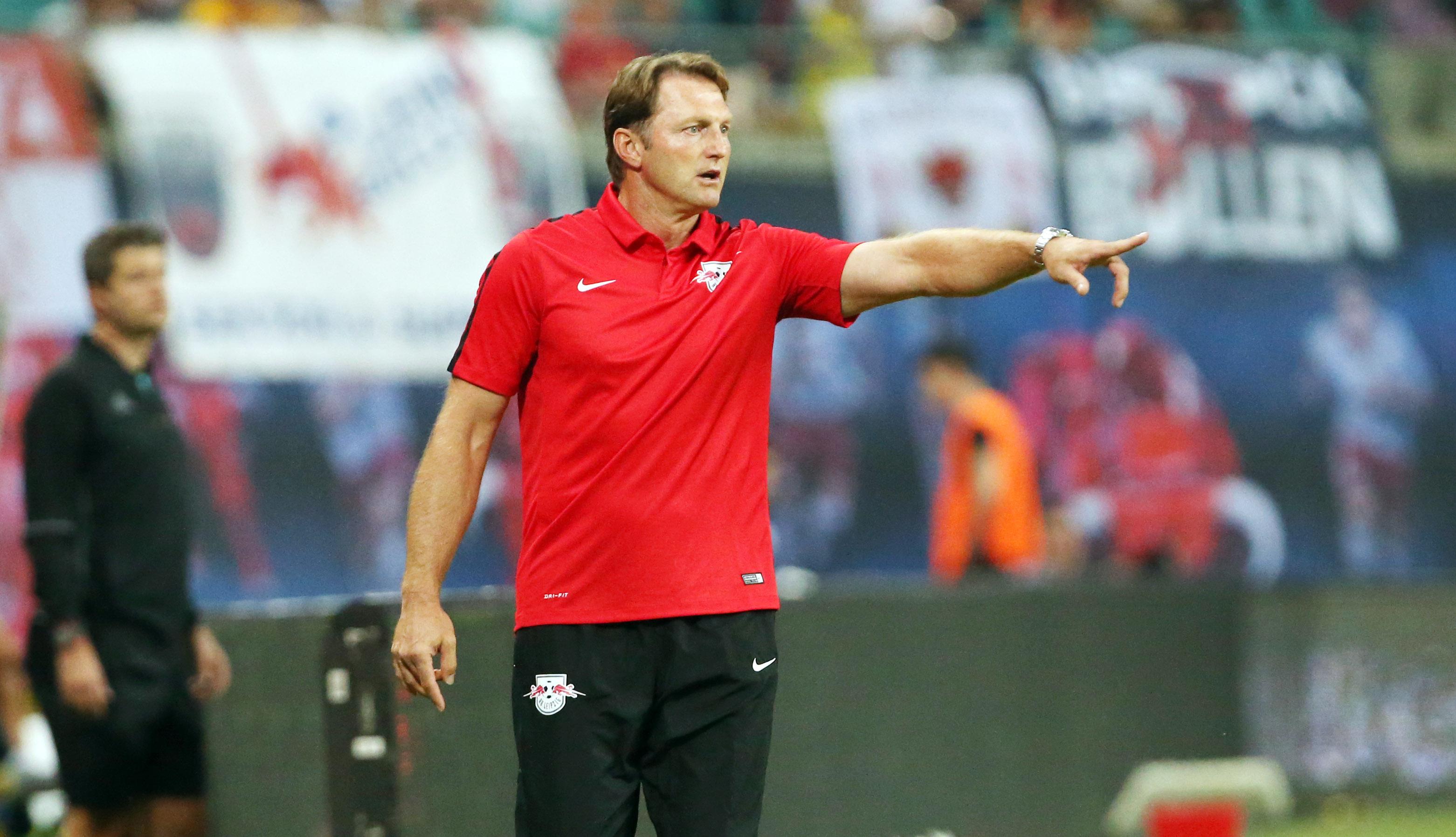 Also den und den hätte ich schon noch gern. Ralph Hasenhüttl hat noch Transferwünsche. | GEPA Pictures - Sven Sonntag