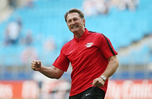 Möchte der FC Arsenal Ralph Hasenhüttl in England jubeln sehen? | GEPA Pictures - Roger Petzsche
