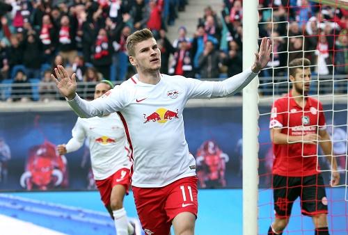 Zwei Tore, eine Vorlage: Timo Werner mag es effektiv. | GEPA Pictures - Roger Petzsche