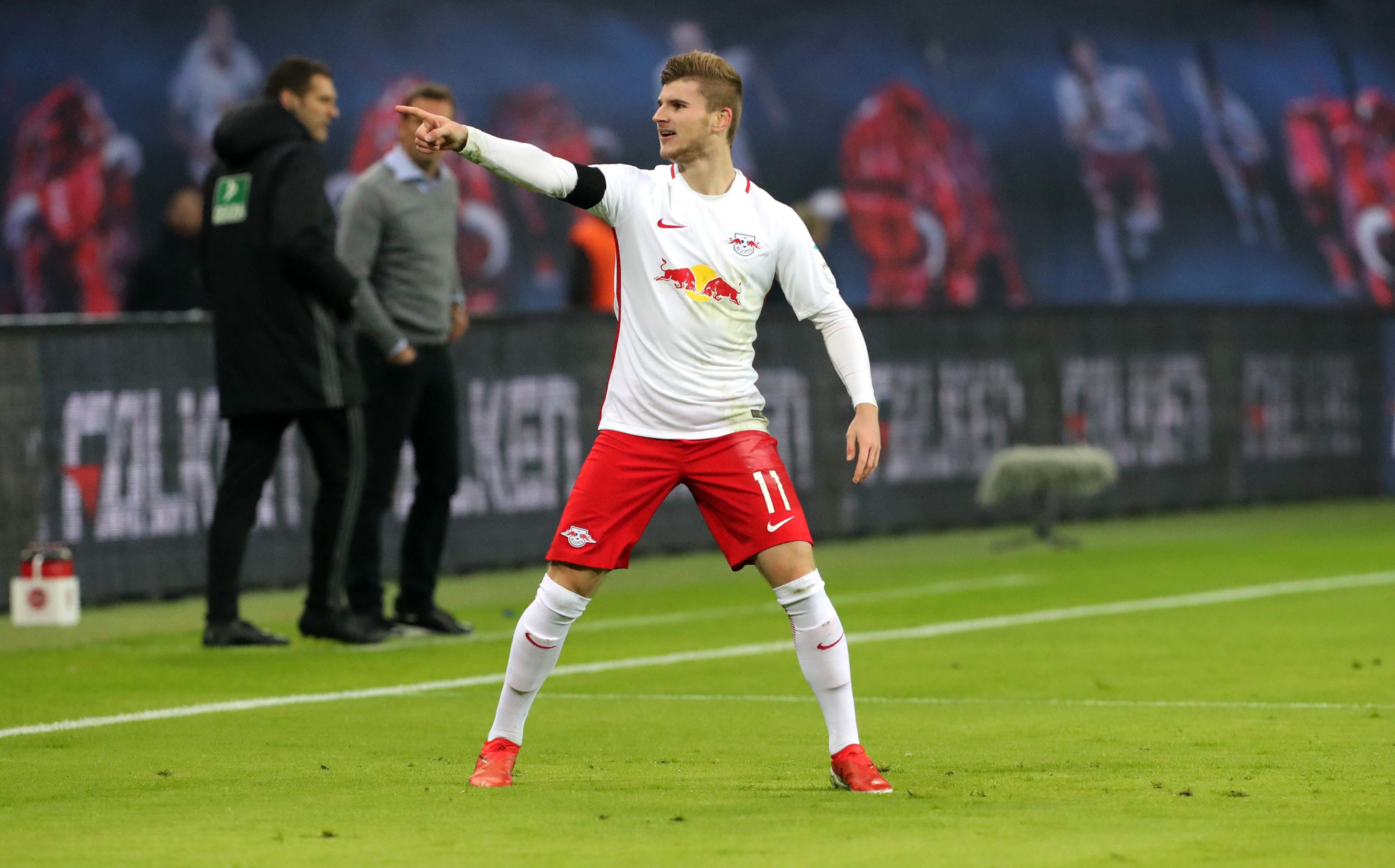 Timo Werner lieferte in vielerlei Hinsicht die wichtigsten Geschichten zum Spiel von RB Leipzig gegen Schalke 04. | GEPA Pictures - Sven Sonntag.