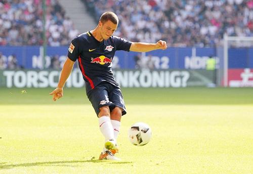 Diego Demme könnte heute zum zweiten deutschen Nationalspieler bei RB Leipzig werden. | GEPA Pictures - Roger Petzsche