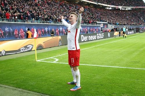 Gefeierter Matchwinner für RB Leipzig gegen den 1.FC Köln: Timo Werner. | GEPA Pictures - Kerstin Kummer