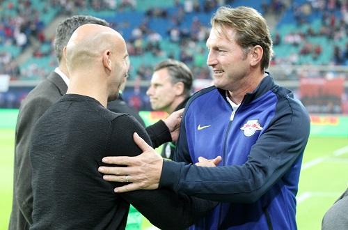 Andre Schubert war der letzte Trainer, der Ralph Hasenhüttl in der zweiten Halbzeit noch ein relevantes Tor abluchsen konnte. | GEPA Pictures - Roger Petzsche