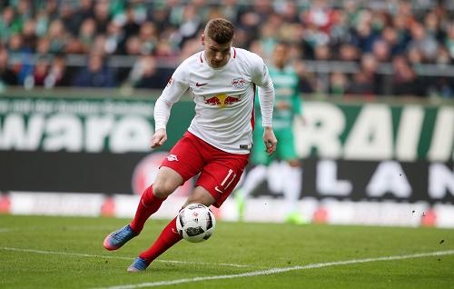 Timo Werner kam gegen Werder Bremen auch nicht wie gewohnt zum Zuge. | GEPA Pictures - Roger Petzsche