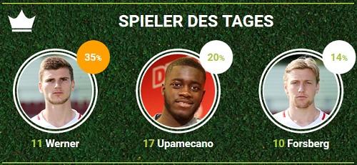 RB-Spieler des 25.Spieltags bei Werder Bremen bei fan-arena.com