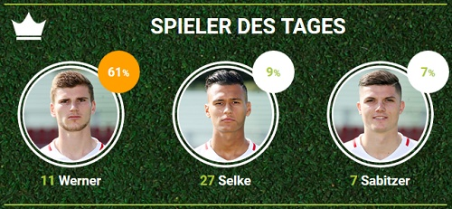 RB-Spieler des 32.Spieltags bei Hertha BSC bei fan-arena.com