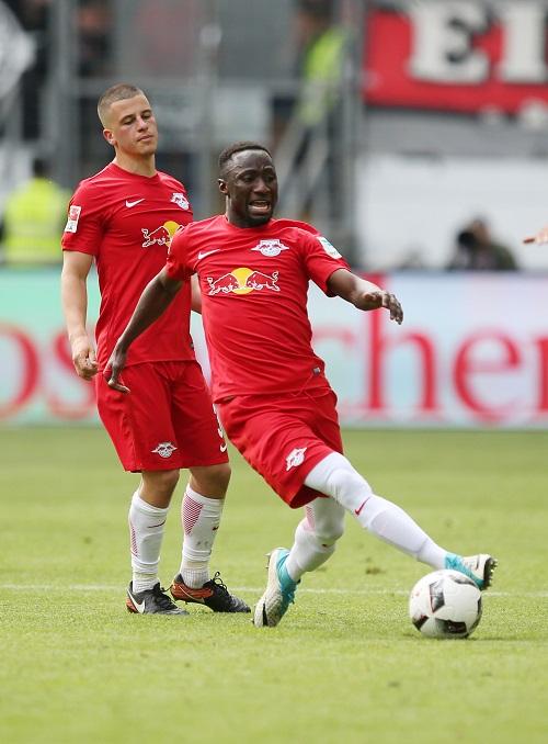 Naby Keita und Diego Demme versuchen es demnächst sicher wieder miteinander und nicht gegeneinander. | GEPA Pictures - Roger Petzsche