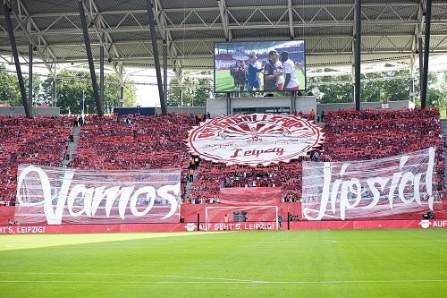 RB Leipzig feiert einen gelungenen Heimauftakt gegen den SC Freiburg. | Foto: Dirk Hofmeister