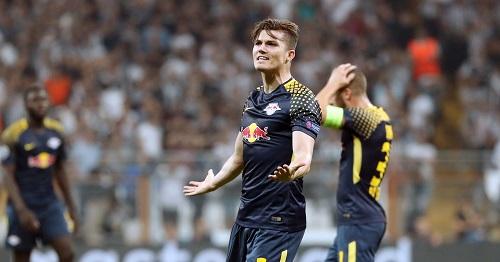 Viel Hadern mit dem 0:2 von RB Leipzig bei Besiktas Istanbul. | GEPA Pictures - Sven Sonntag
