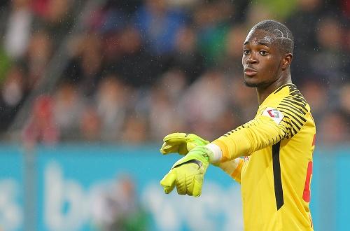 Yvon Mvogo war die Nummer 1 beim Debütantenball von RB Leipzig. | GEPA Pictures - Thomas Bachun