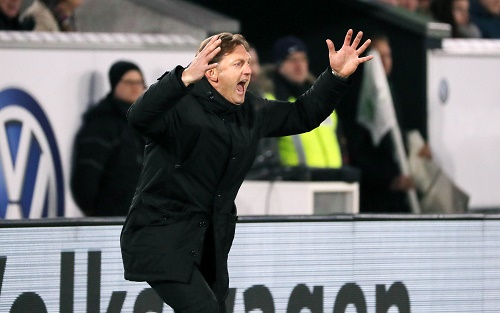 70 Minuten zum Verzweifeln für RB Leipzig beim VfL Wolfsburg. | GEPA Pictures - Sven Sonntag