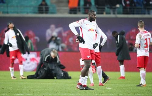 So richtig viel Spaß hat das Spiel zwischen RB Leipzig und dem 1.FC Köln den Beteiligten nicht gemacht. | GEPA Pictures - Kerstin Kummer