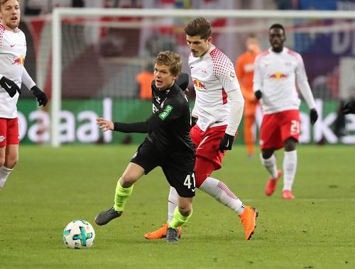 Vincent Koziello war einer der Matchwinner für den 1. FC Köln mit einem Tor und einer Passquote von 97%.   GEPA Pictures - Sven Sonntag