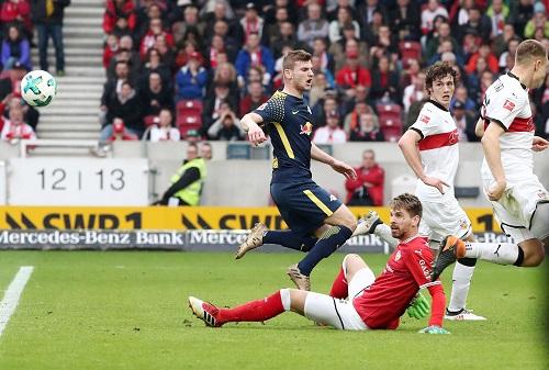 Timo Wener hatte in Stuttgart nicht viel zu melden, bekannte sich aber zu einem weiteren RB-Jahr. | GEPA Pictures - Roger Petzsche