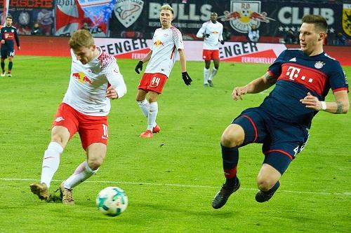 Timo Werner unaufhaltsam auf dem Weg zum 2:1 | Foto: Dirk Hofmeister