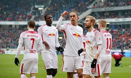 Lange souverän und am Ende doch gezittert. RB Leipzig gewinnt in Hannover 3:2.   GEPA Pictures - Roger Petzsche