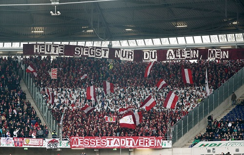 RB-Fans in Hannover. | GEPA Pictures - Roger Petzsche