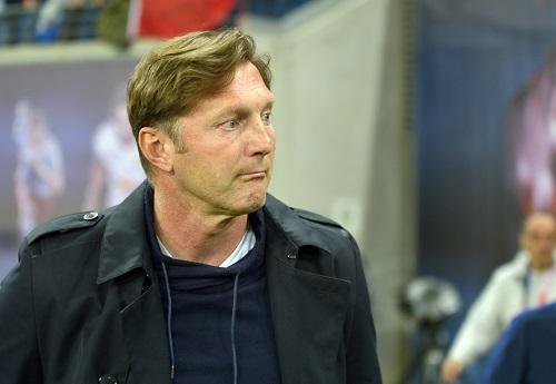 Ralph Hasenhüttl hat bei RB Leipzig schon hübschere Spiele erlebt. | Foto: Imago