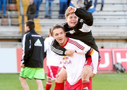 Nach dem Spiel in Darmstadt war Dominik Kaiser einst der gefeierte Mann. | GEPA Pictures - Roger Petzsche