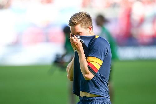 Auch für Dominik Kaiser wurde es ein emotionaler Tag. | GEPA Pictures - Roger Petzsche