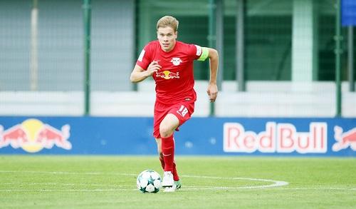 Mit Kilian Senkbeil verliert RB Leipzig erneut ein Talent aus dem eigenen Nachwuchs. | GEPA-Pictures - Sven Sonntag