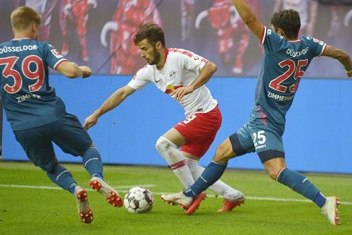 Dauerläufer Marcelo Saracchi blieb gegen Düsseldorf glücklos. | Foto: Dirk Hofmeister