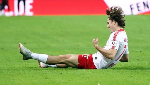 Ein Bild wie das Spiel. RB Leipzig überfährt den 1. FC Nürnberg wie ein Metalsong den Volksmusikliebhaber. | GEPA Pictures - Kerstin Doelitzsch