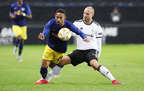 Matheus Cunha überzeugte beim 3:1-Sieg von RB Leipzig bei Rosenborg Trondheim. | GEPA Pictures - Sven Sonntag