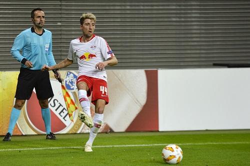 Kevin Kampl gehörte gegen Celtic Glasgow erneut zu den Aktivposten bei RB Leipzig. | Foto: Dirk Hofmeister